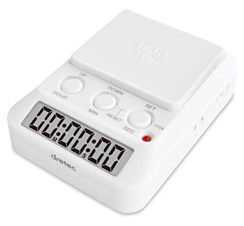 dretec(ドリテック) 勉強タイマー タイムアップ2 消音 T-580WTDI ホワイト