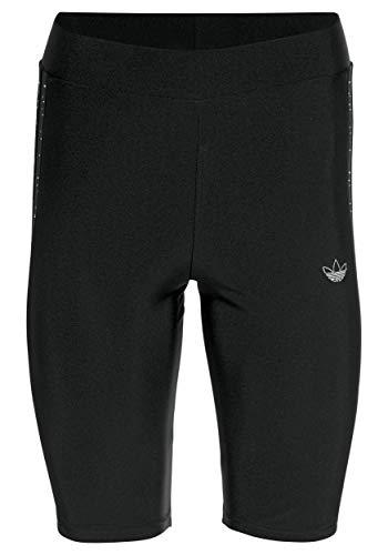 Adidas Trefoil - Pantaloncini aderenti da donna Nero 44