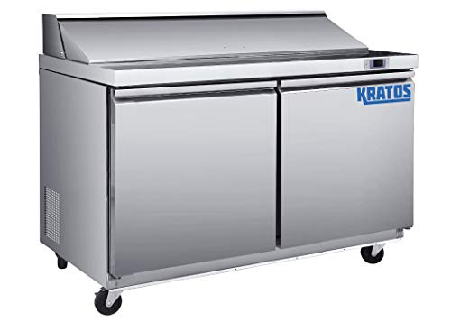 "Kratos Refrigeration 69K-770 48""W Sandwich/Salad Prep Table, 12 Pan Capacity, NSF7"