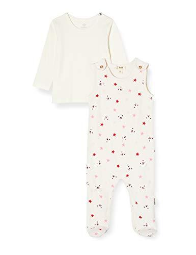Steiff Baby-Unisex Set Strampler + Sweatshirt Bekleidungsset, Rosa (Sea Pink 3014), (Herstellergröße: 56)