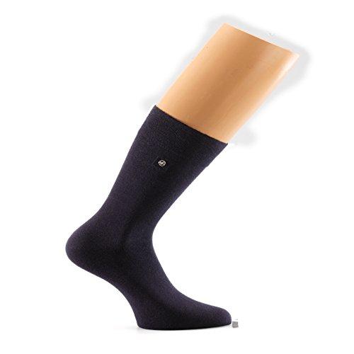 Snap Sock 2-er Pack Baumwolle Basic nachtblau