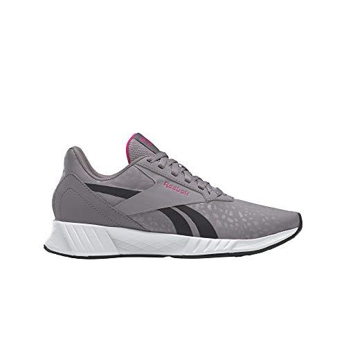 Reebok Lite Plus 2.0, Zapatillas de Running Mujer, GRAGRY/Blanco/PROUDP, 37 EU
