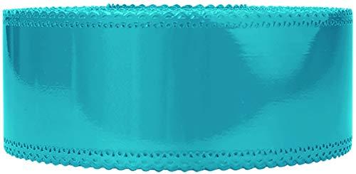 Le Petit Mitron Ruban Charlotte Dentelle Turquoise