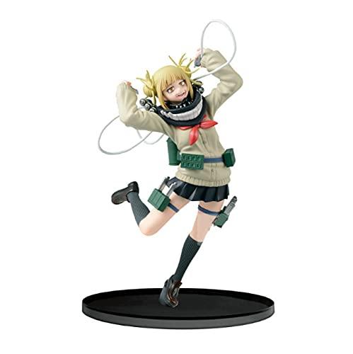 18Cm Anime My Hero Academia Himiko Toga Jk Lovely Ver.Figura De Acción De PVC Boku No Hero Academia Age of Heroes Deku Fighter Modelo Juguetes Estatua
