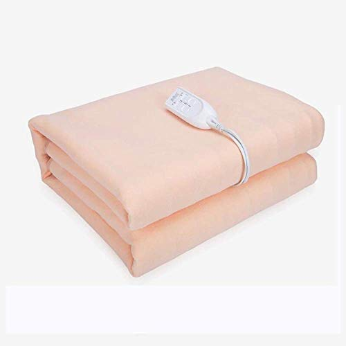 CNRRT Electric blankets, temperature adjustable, no radiation, increase water security, thick waterproof, pink (Size : 170x150cm)