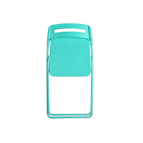 MJY Multi-Color Opcional Marco de metal con recubrimiento en polvo Silla plegable de plástico Silla