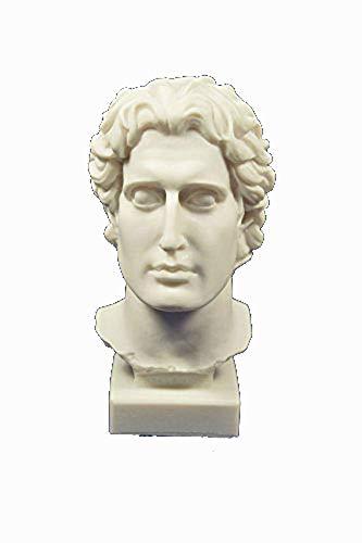 Skulptur Alexander der Große Kopf Büste