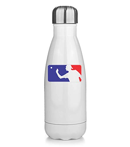 KRISSY Beer Pong League Logo Thermos Flask Bottle Water Bottle Stainless Steel Vacuum