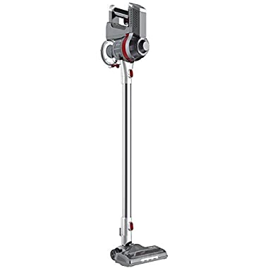 Deik Cordless Vacuum Cleaner, 2 in 1 Vacuum Cleaner, Cordless Stick Vacuum with High Power & Long Lasting, Lightweight Handheld Vacuum with 22.2 V Lithium Ion Battery Rechargeable