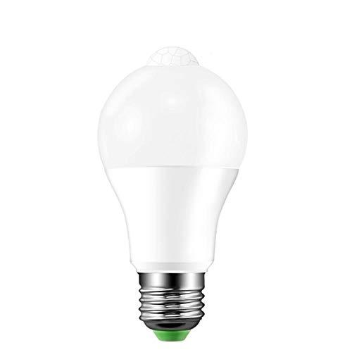 LED-gloeilampen, energiebesparend, met bewegingsmelder, 220 V, 110 V, E27, B22, 12 W, 18 W, PIR-sensor, intelligente LED-gloeilamp, automatisch in- en uitschakelen, nachtverlichting voor woonkamer