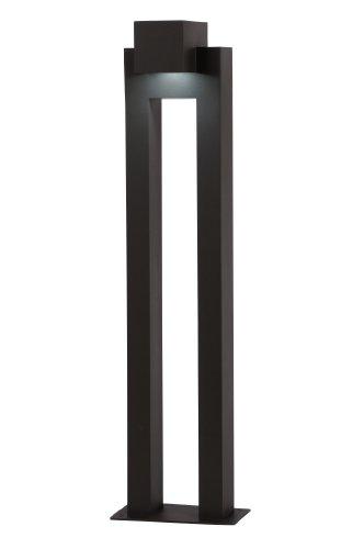 Lucide KWINTO - Borne Exterieur Extérieur - LED - 1x6W 3000K - IP54 - Noir