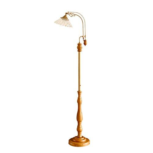 Lámpara de pie de Light, lámpara de pie retro para tipo palanca,...