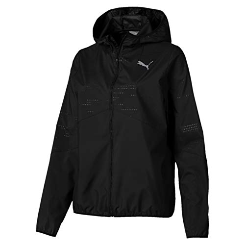 Puma Ignite Hooded Wind Jacket Coupe-Vent Femme Puma Black FR : XS (Taille Fabricant : XS)