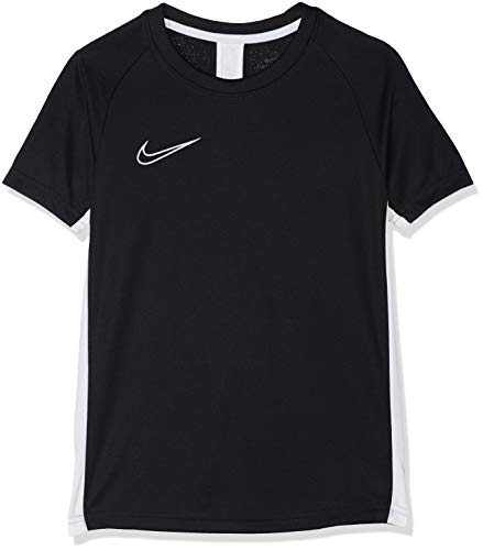 Nike B Nk Dry Acdmy SS, Tshirt Bambino, Nero, L