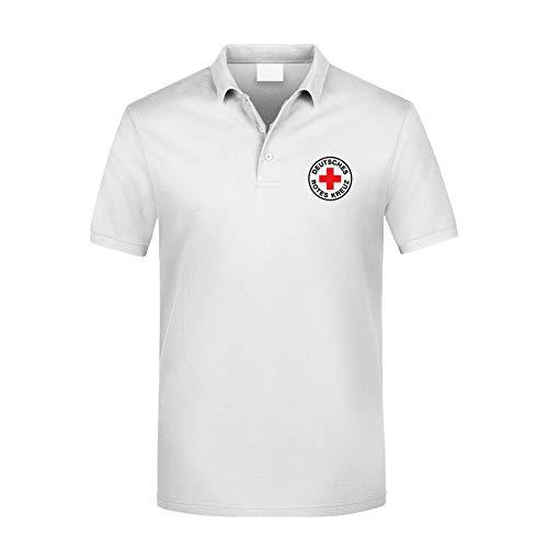 MT83 DRK Deutsches Rotes Kreuz Poloshirt alle gestickten Logos (3XL)
