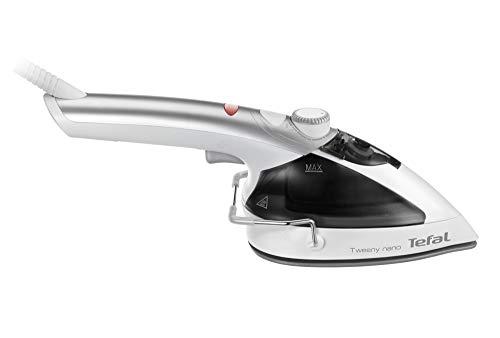 Tefal DV9000 Tweeny Nano stoomborstel en strijkijzer in één apparaat, 950, 50 milliliter, wit/zilver