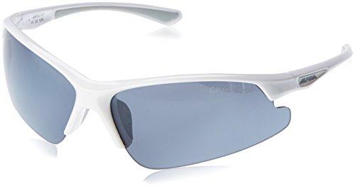 Alpina Sonnenbrille LEVITY Sportbrille, weiß, one size