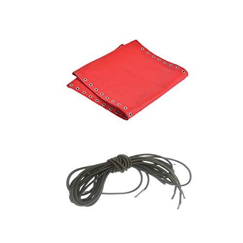CUTICATE Kit De Tela Roja Y Cordones De Cordón para Reclinable Acolchado De Playa