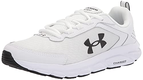 Under Armour Women's Charged Assert 9 Running Shoe, White (101)/White, Numeric_9