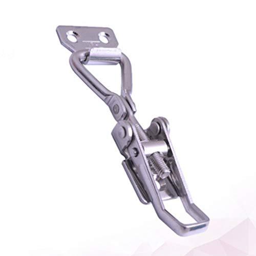 iplusmile Toggle Latch Lock Stainless Steel Hasps Locks Cabinet Box Hasp Latch for Mechanical Equipment Buckle Locks