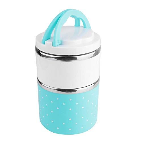 Fiambrera portátil, contenedor de almuerzo, camping para la escuela de picnic de oficina