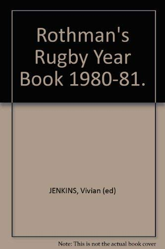 Rothman's Rugby Year Book 1980-81