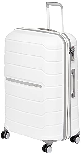 Samsonite Freeform Hardside Expandable with Double Spinner Wheels, White, Carry-On 21-Inch
