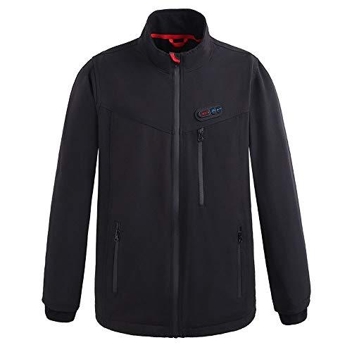 De overtrek voor heren, verwarmend, elektrisch, voor buiten, tops, winter, met USB-aansluiting, thermostaat, automatisch opwarmen van kleding, winddichte jas.