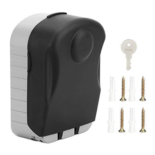 Caja de llaves Caja de bloqueo de llaves Caja de almacenamiento de llaves Hogar montado en la pared 4 dígitos Contraseña Caja de bloqueo de llaves Llaves Estuche de almacenamiento antirrobo impermeabl