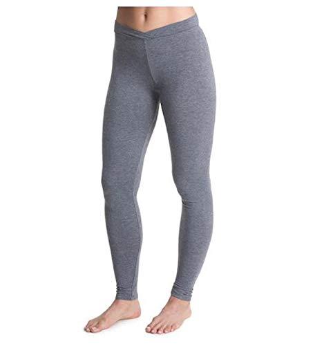 Cuddl Duds Women's Softwear with Stretch Legging, Heather Coal, X-Large