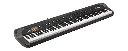Korg SV188BK - 88 - Key Digital Piano with Vintage Sounds, Black (Renewed)