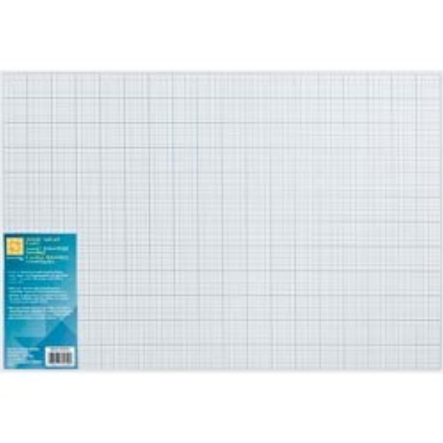 Bulk Buy: Wrights Quilterin.s Gridded Plastic Template 12in. x 18in. 670052 (5-Pack)