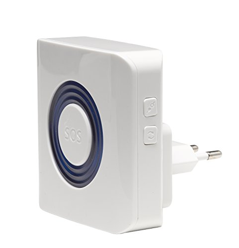 Denver ASA-30 Indoor Alarmsirene mit Stroboskoplicht für Alarmanlage