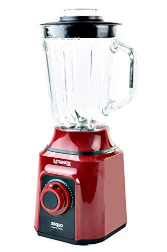 Rebajas !!OFERTA BLACK FRIDAY !! Batidora Americana de vaso de cristal fundido termo resistente y 4 cuchillas 3D. Batimatic Turbo 500