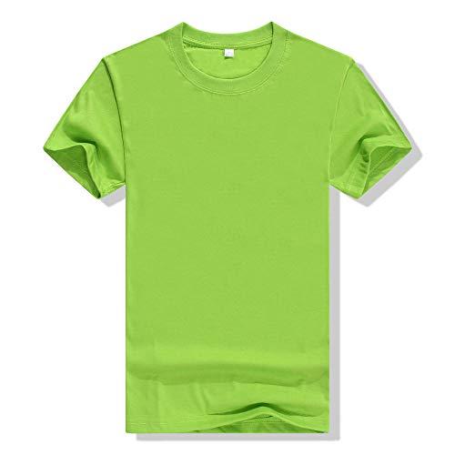 kaihao Hombres Corrientes de los Deportes de Fitness Secado rápido Plus Size Color Negro Sólido Camisetas Respirable del Verano Camiseta Floja (Color : 2 pcs green3, Size : XXL.)