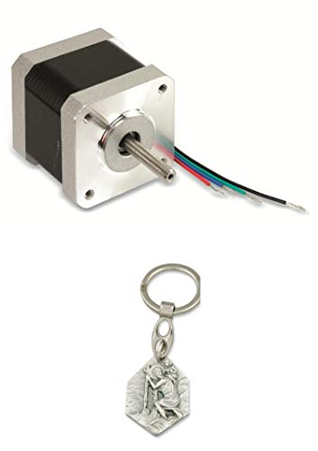 Zisa-Kombi Schrittmotor ACT 17HS4417 1,8°, 2 Phasen, 2,55 V (985988310779) mit Anhänger Herz Jesu 2,5cm