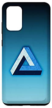 Galaxy S20+ Penrose Tribar optical illusion impossible triangle maths Case
