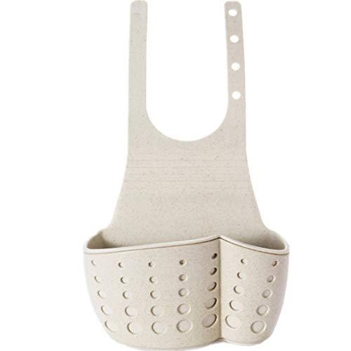 HoGau haak voor keuken badkamer spons borstel bewaren zeep opbergdoos keuken badkamer kunststof mand plank tas gepolijst