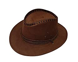 RAAYA Cowboy Hat for Boys and Men, Hats for Style, for Good Looking, Black, Pack of 1