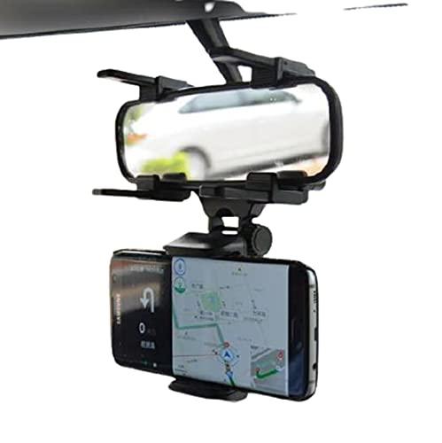 Suporte Para Celular Universal Espelho Retrovisor Carro 360