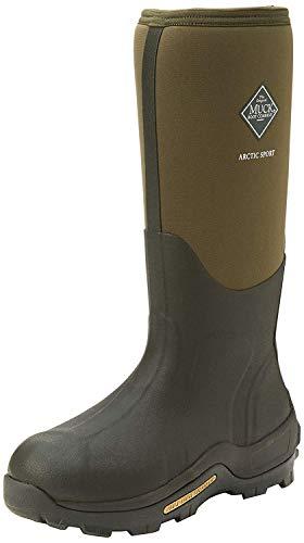 Muck Boots Arctic Sport Tall, Unisex Erwachsene Arbeits-Gummistiefel, Grün (Moss 333A), 43 EU (9 UK)