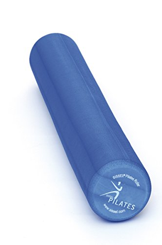 SISSEL Pilates Roller Pro Soft, Balance Core Stabilitätstraining, Ø 15cm, 90cm lang