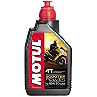 MOTUL 105936- Aceite para Moto, 10 W30,4T, 1 litro