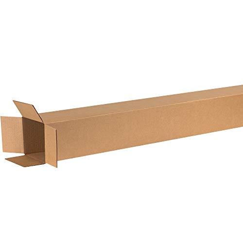 Aviditi Single-Wall Tall Corrugated Box, 6' L x 6' W x 60' H, Kraft, Bundle of 15 (6660)