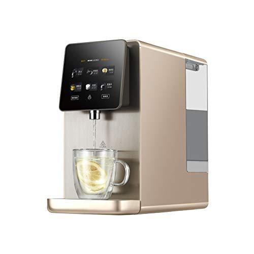 Dispensadores de agua caliente Dispensador De Agua para Uso Doméstico Dispensador De Agua Potable Directo Oficina En Casa (Color : Brown, Size : 20 * 38 * 46cm)