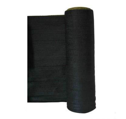 Mitef Rouleau de Tissu d'Ombre de Taux d'Ombrage DE 95%, Résistant à l'usure d'Ombre, pour Jardin, Balcon, Noir