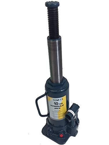 WheelsNBits® 10 Ton tonne 10,000kg Heavy Duty Hydraulic Bottle Jack...