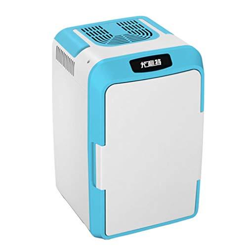 Refrigerador pequeño de 12L para el hogar, dormitorio de estudiantes en miniatura, refrigerador para automóvil de doble propósito para el hogar, adecuado para la familia, el dormitorio, el automóvil