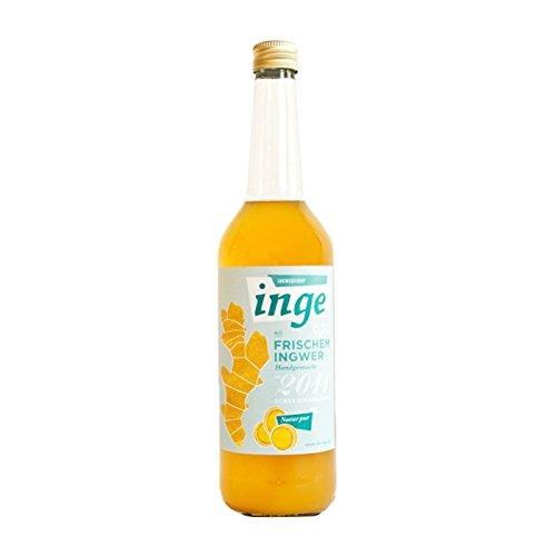 Die Inge Ingwersirup aus frischem Ingwer, unbehandelte Zitronen und Orangen handgemacht