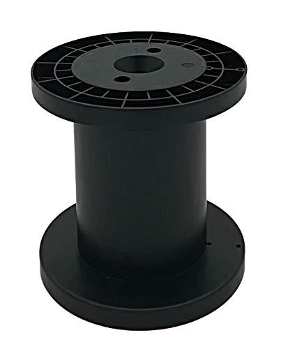 Kunststoffspule, 5 Stück Leerspule, Einwegspule für das aufwickeln verschiedener Materialien E100 mit zylindrischem Kern, Spule